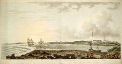 View Of Fort Charlotte, The Town Of Nassau &c&c In The Island Of New Providence Taken From Silver Key At The Entrance Of The Harbour